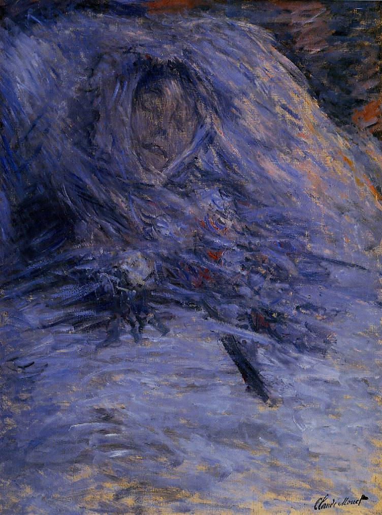 Claude Monet, 1879, CR543, Camille Monet on her deathbed, 90x68cm, Orsay