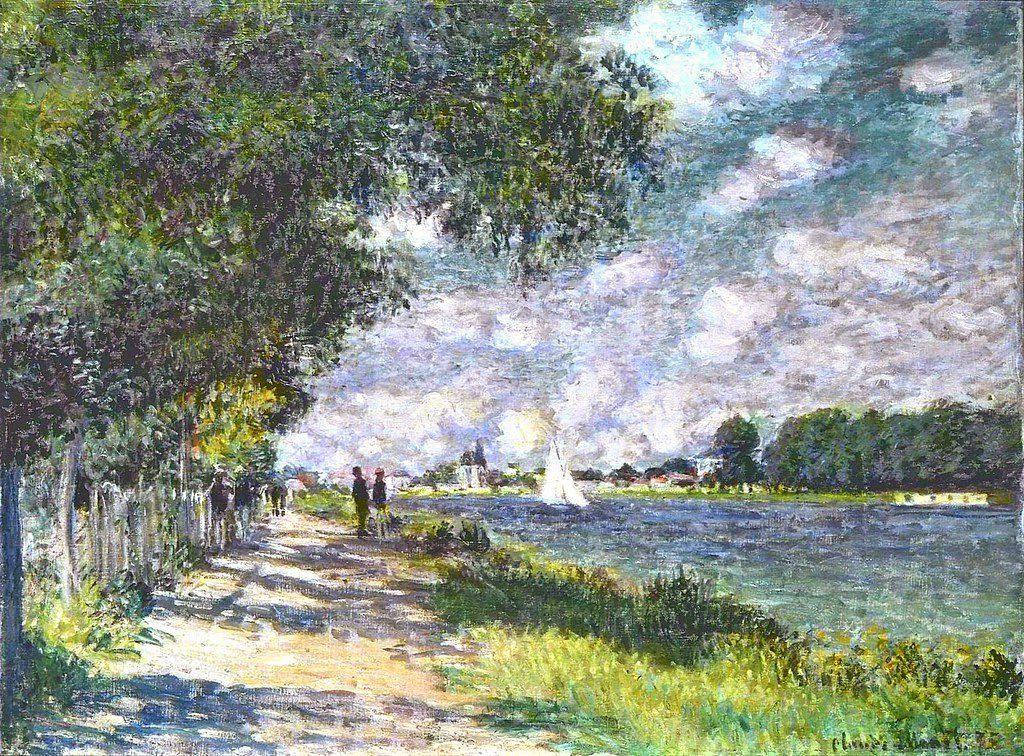 Claude Monet, 2IE-1876-149, La Seine à Argenteuil. Probably: CR373, 1875, The Seine at Argenteuil, 60x80, FAM San Francisco (iR2;R2,p179;R90II,p56;R22+R127,CR373;M30-2,no.28.77) = Solo-1883-13.