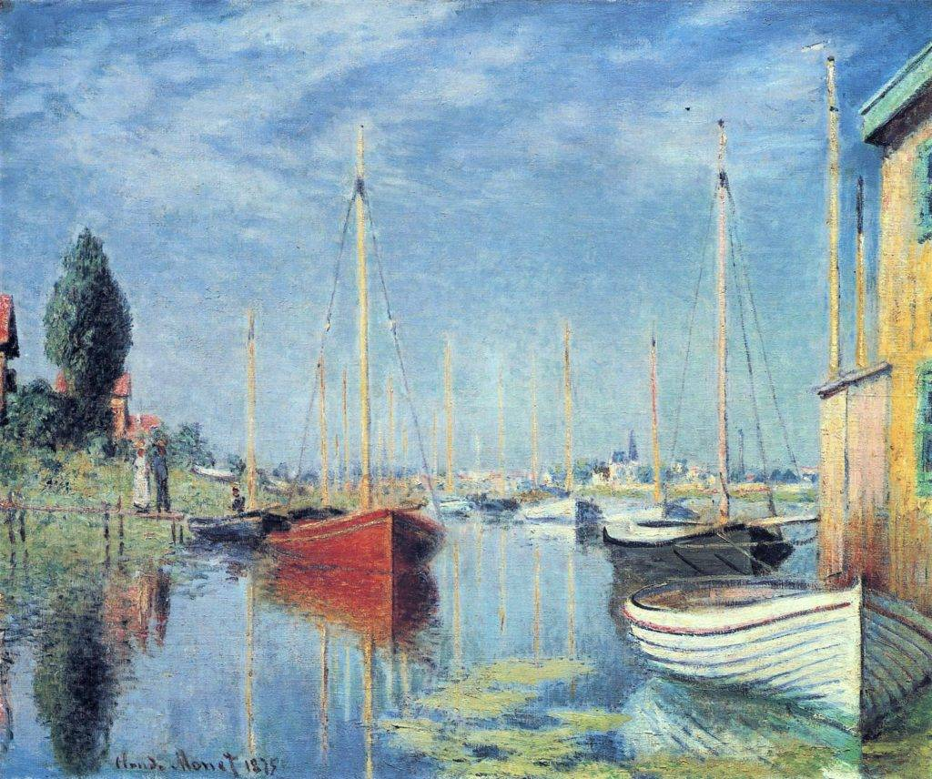 Claude Monet, 2IE-1876-155, Le petit Genevilliers. Maybe?: 1875, CR368, Yachts at Argenteuil, 54x65, Cologne Gallery Abels (iR51;R2,p163;R90II,p58;R22+R127,CR368). Also option for no.160.