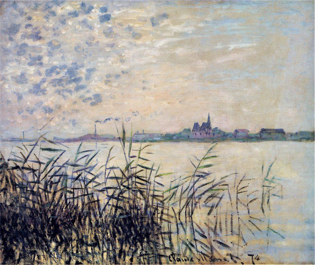 Claude Monet, 3IE-1877-104, Marine. Maybe: CR327, 1874, The Seine near Argenteuil, 55x66, private (iR2;R2,p205;R90II,p77;R22+R127,CR327)