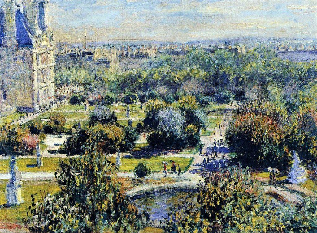 Claude Monet, 3IE-1877-95 Les Tuileries, app. M. Bellio = CR401, 1876, The Tuileries, 54x73, Marmottan (iR2;R22+R127,CR401;R2,p205;R90II,p93;M2,no.4016)