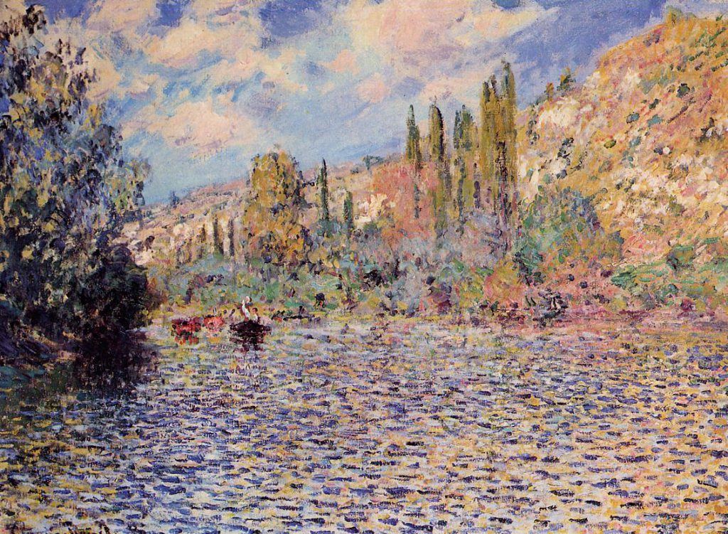 Claude Monet, 4IE-1879-166+hc3, unknown title (Vétheuil). Maybe?: CR529, 1879, The Seine at Vetheuil, 54x73, private (iRx;R22+R127,CR529;R2,p265)
