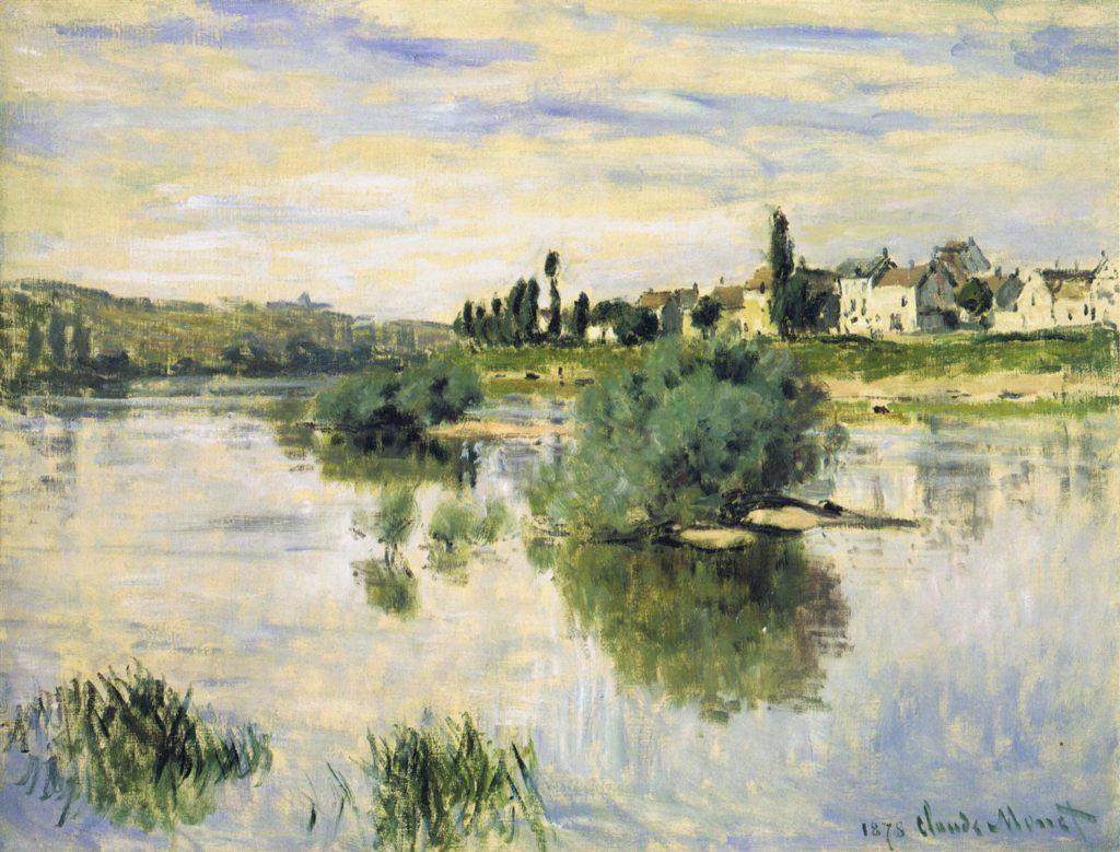 Claude Monet, 4IE-1879-149 Lavacourt. Maybe: CR475, 1878, The Seine at Lavacourt, 56x75, private (iR2;R2,p269;R90II,p134;R22+R127,CR475)