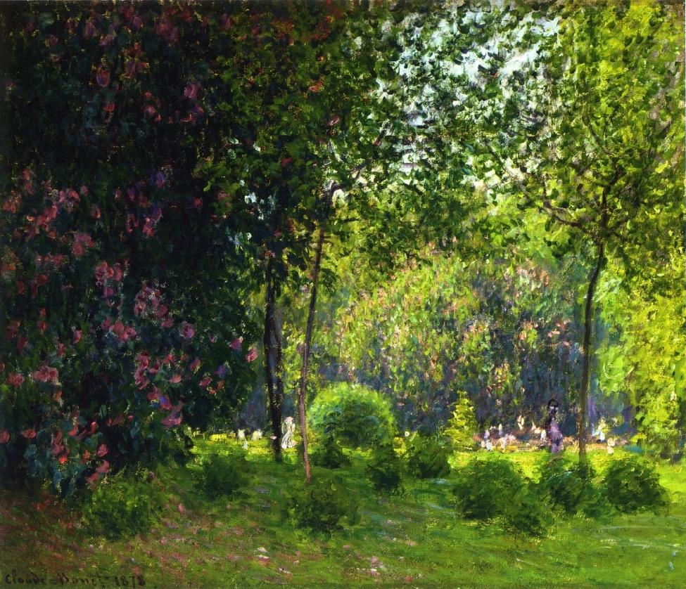 Claude Monet, 4IE-1879-152 Parc Monceaux. Probably: CR468, 1878, The Parc Monceau, 54x65, private (iR2;R22+R127,CR468;R90II,p134;R2,p269)