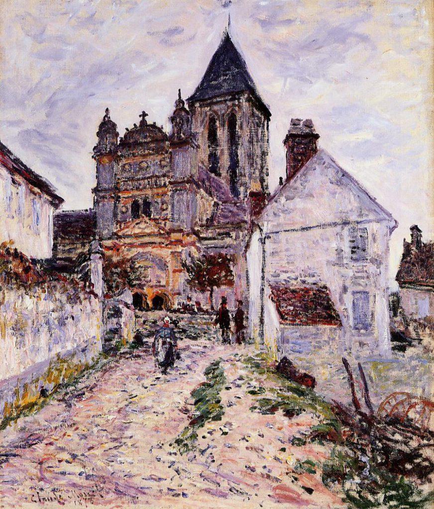 Claude Monet, 4IE-1879-156, Eglise de Vétheuil = CR474, 1878, The Church at Vetheuil, 65x55, NGS Edinburgh (iR2;R22+R127,CR474;R2,p269;R90II,p135;M63,NG2385)