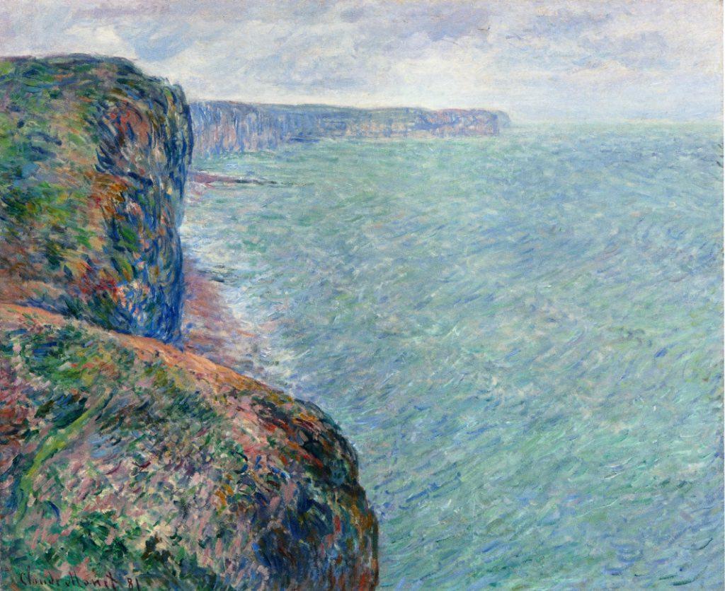 Claude Monet, 7IE-1882-67, La mer du haut des falaises. Now: CR648, 1881, The Sea seen from the Cliffs, 60x75, private (iR2;iR51;R22,no648;R90II,p205+220;R2,p395+385)