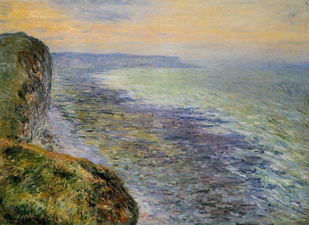Claude Monet, 7IE-1882-76, Étude de mer vue des hauteurs. Maybe?: CR647, 1881, Seascape near Fécamp, 60x81, private (iR2;R22,no647;R2,p394)