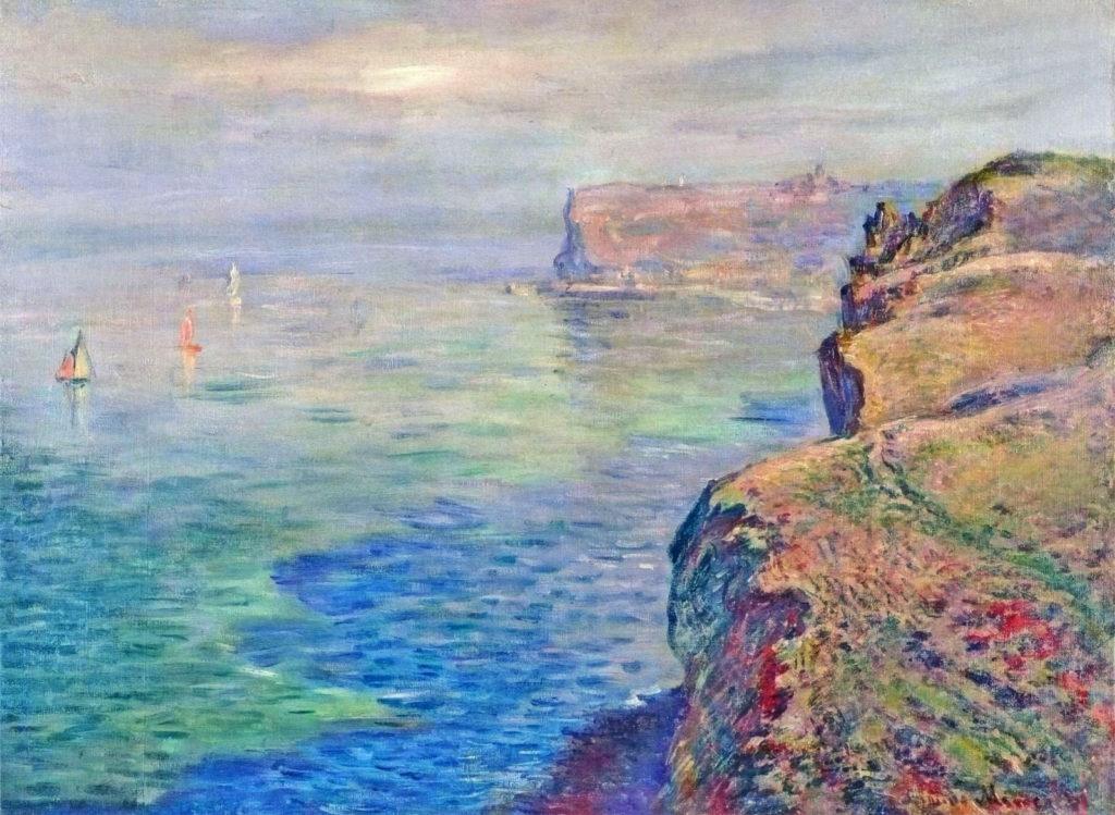Claude Monet, 7IE-1882-77, À Grainval, près de Fécamps. Now: CR653, At Grainval, near Fécamps, 61x80, private (iR51;iR2;R22,no653;R90II,p206+222;R2,p395+404)