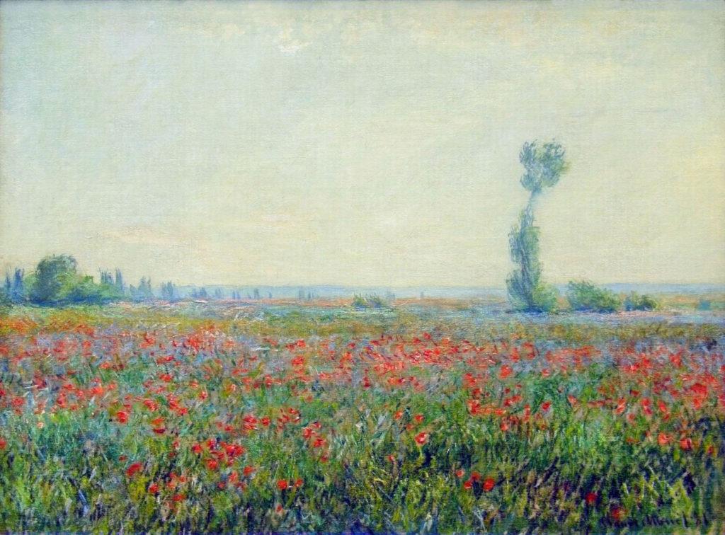 Claude Monet, 7IE-1882-86, Les coquelicots. Probably: CR677, 1881, Poppy Field, 58x79, MBB Rotterdam (iR2;iR51;iR8;R22,no677;R90II,p206+223;R2,p395)