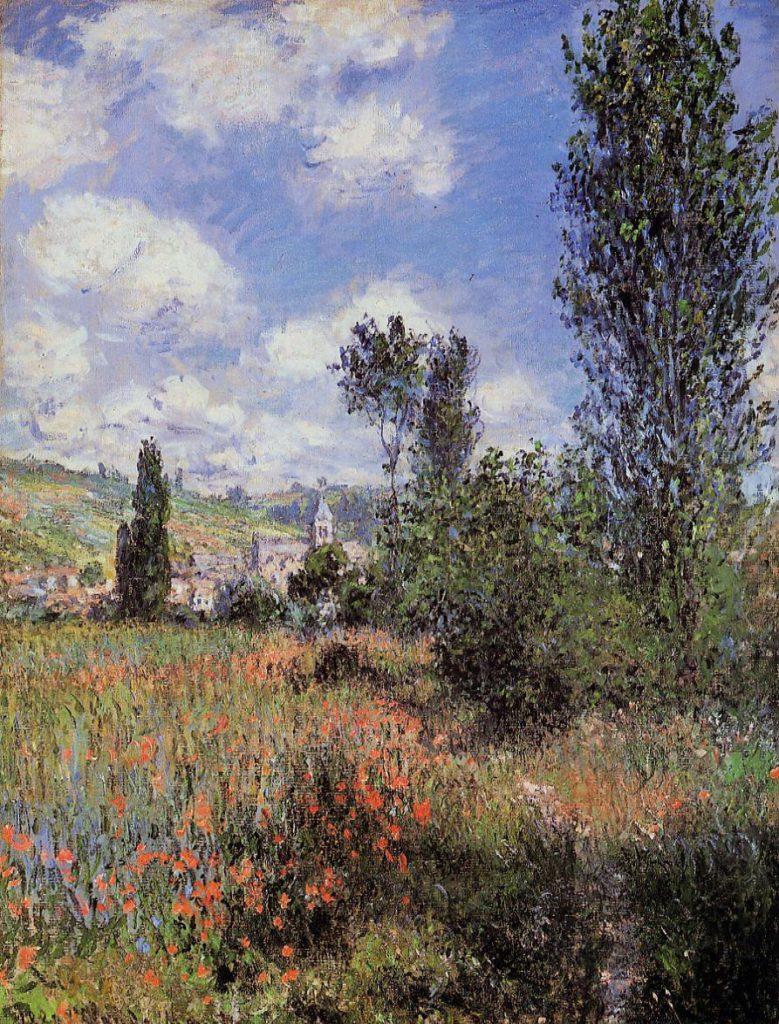 Claude Monet, 7IE-1882-89, Sentier dans l'île St-Martin. Maybe?: CR592, 1880, Lane in the Poppy Field, Ile Saint-Martin, 80x60, Metropolitan (iR2;iR51;R22,no592;R2,p395+406;M23)