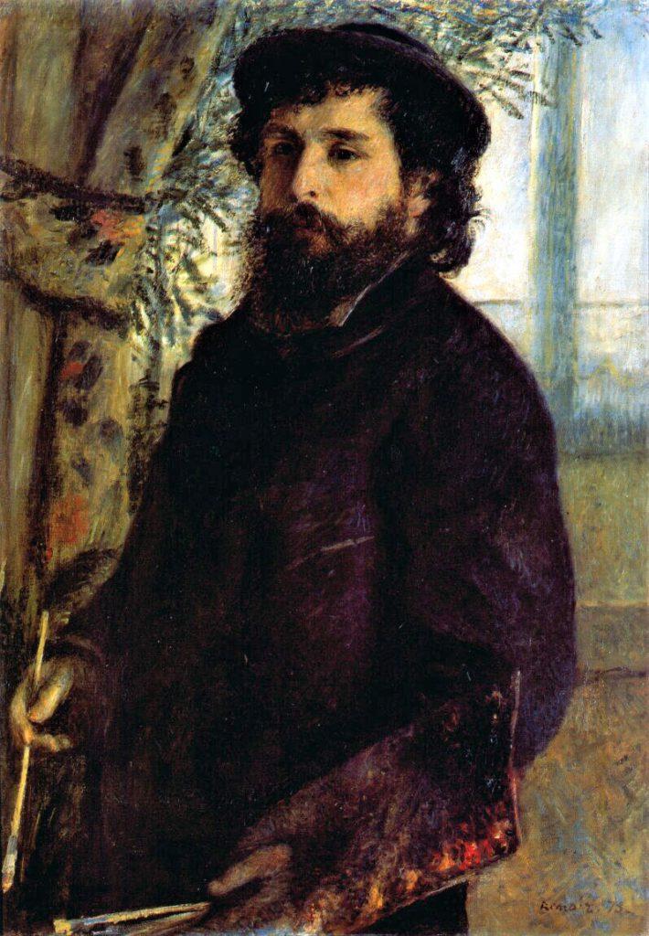 Renoir, 2IE-1876-220, portrait de M. M. Maybe!?: 1875, CR132, portrait of Claude Monet, 84x60, Orsay (iR152;R30,no163)