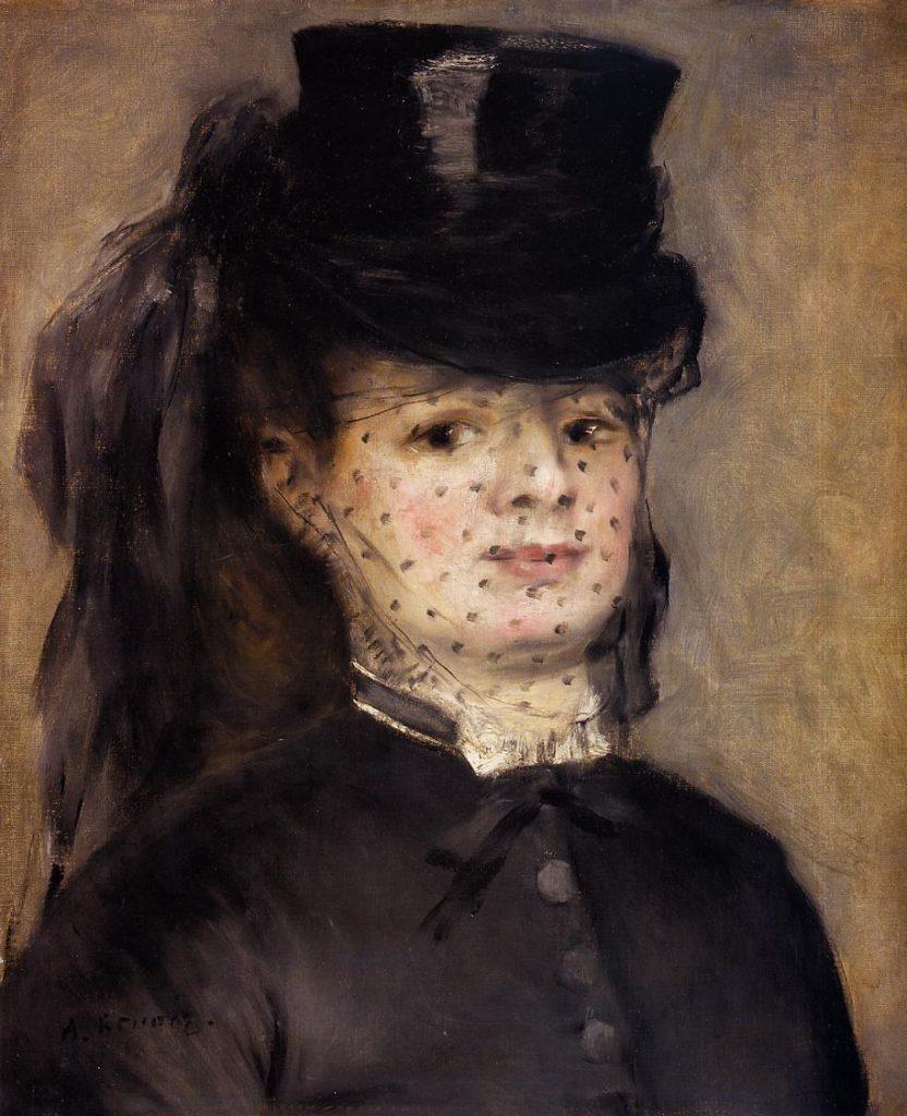 Renoir: 2IE-1876-222 portrait de Mme D..., Maybe??: 1873, Madame Darras as an Horsewoman, 48x40, Orsay (iR2;R30,no103)