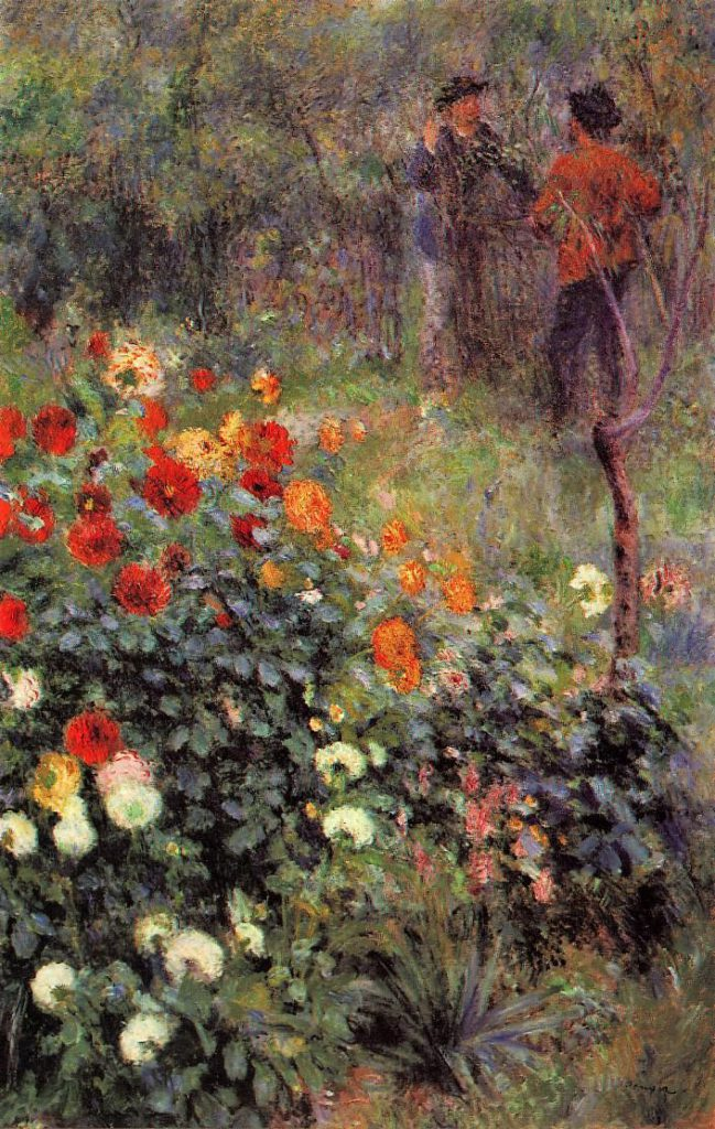 Renoir, 3IE-1877-198, Jardin. Maybe?: 1876, CR193, The Garden in the Rue Cortot at Montmartre, 151x97, Pittsburgh Carnegie (iRx;R16,p284;R31,no38)