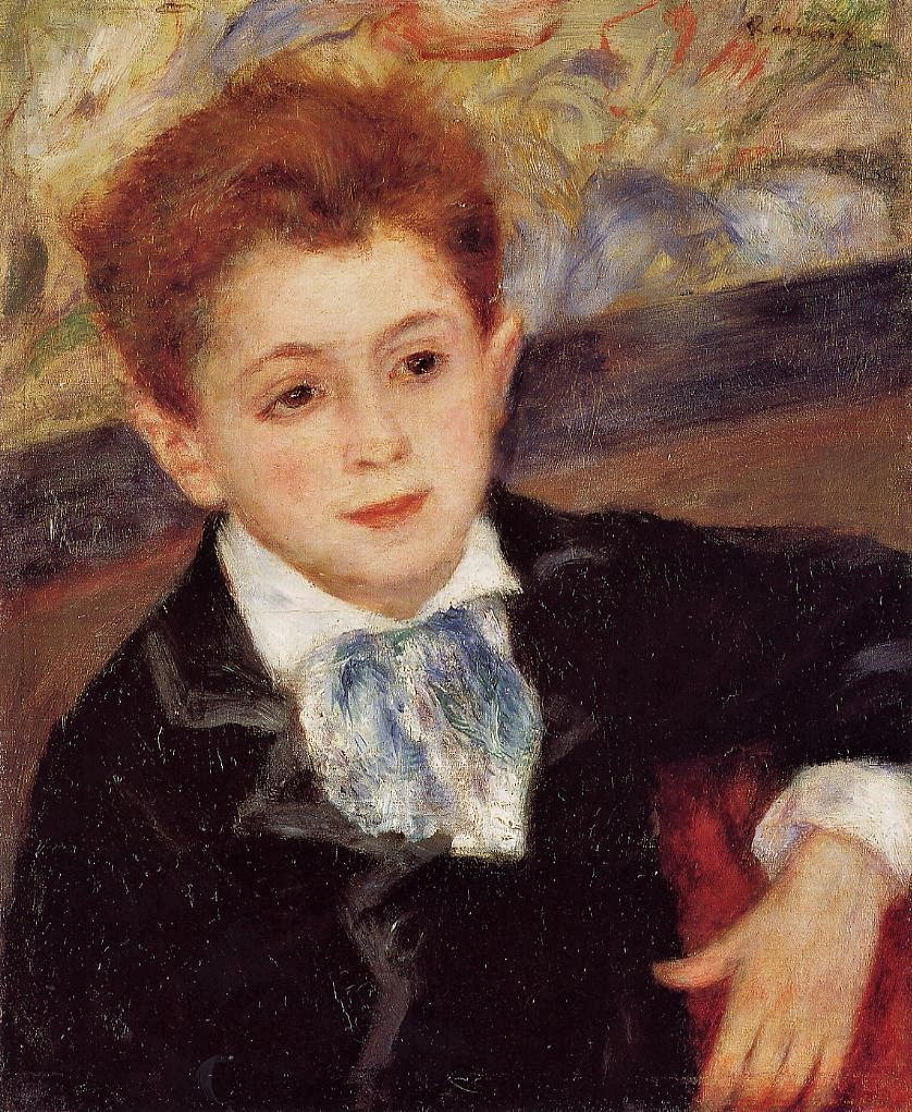 Renoir, 3IE-1877-205 Portrait d'enfant. Maybe??: 1877, CR247, Paul Meunier, 46x36, private (iRx;R30,no291)
