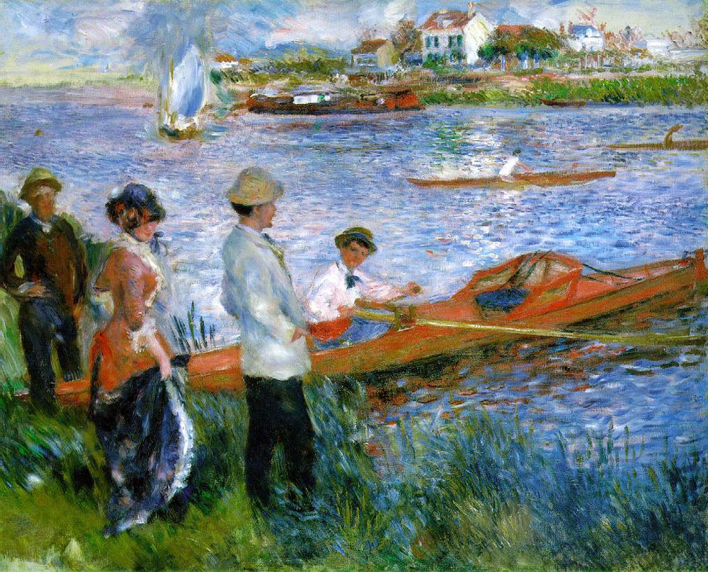 Renoir, 7IE-1882-151 Les canotiers =1879, CR307, Oarsmen at Chatou, 81x100, NGA Washington (iRx;R30,no370;R3,p11;R17,no49;R3,p11;R90II,p231)
