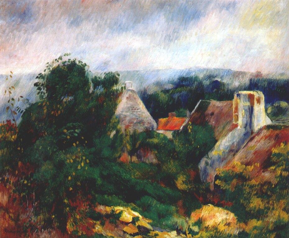 Renoir, 1885ca, La Roche-Guyon, 46x56, Aberdeen AGM (iR52;R31,no77)