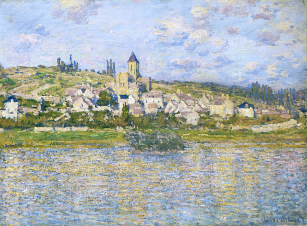 Claude Monet, 4IE-1879-166+hc3, unknown title. Maybe?: 1879, CR533, Vétheuil, 60x81, NGV Melbourne (iR51;R22+R127,CR533;R2,p265;M122,no.406.4)