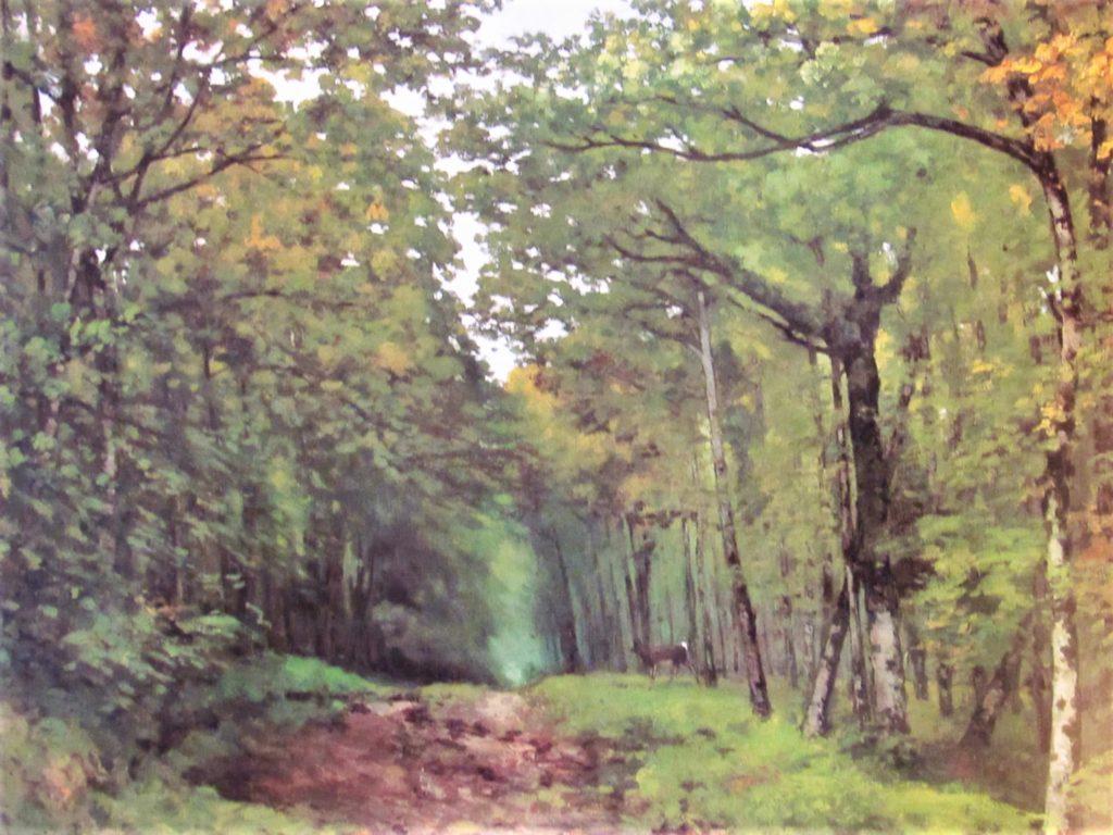 Alfred Sisley, S1868-2312, Avenue de châtaigniers, près la Celle-Saint-Cloud. Now: 1867, CR9, Avenue of Chestnut Trees near La Celle-Saint-Cloud, 95x122, Southhampton CAG (iRx;R166,no6;R129,no9)