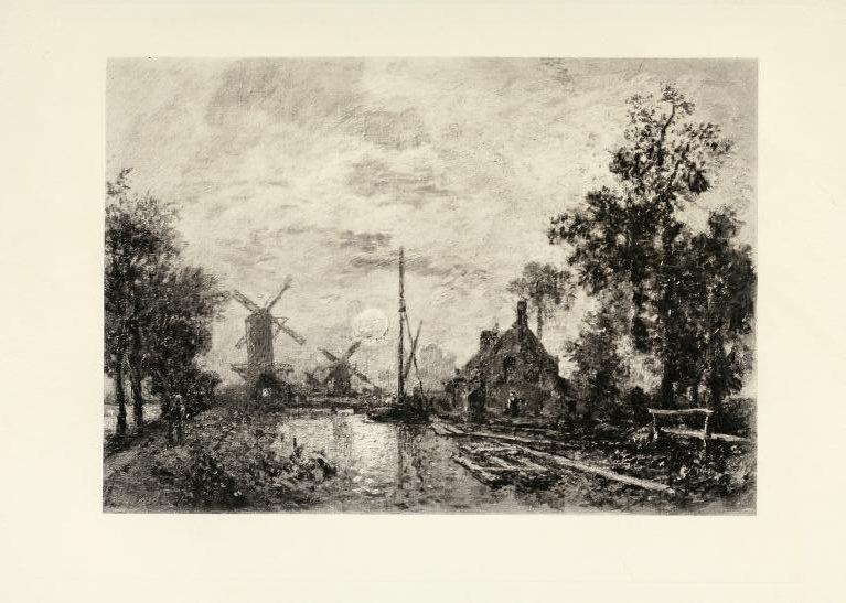 Jongkind(?), 18xx, Vue de Hollande(?), 32x46, Rouart collection (R45,p36++)