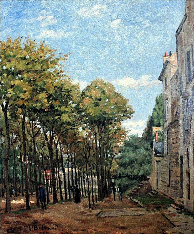 Edouard Béliard, 1872-73, Boulevard de Fossés, Pontoise, xx, private (iR2;iR35). Maybe (?): 2IE-1876-8, Promenade des Fossés, à Pontoise.