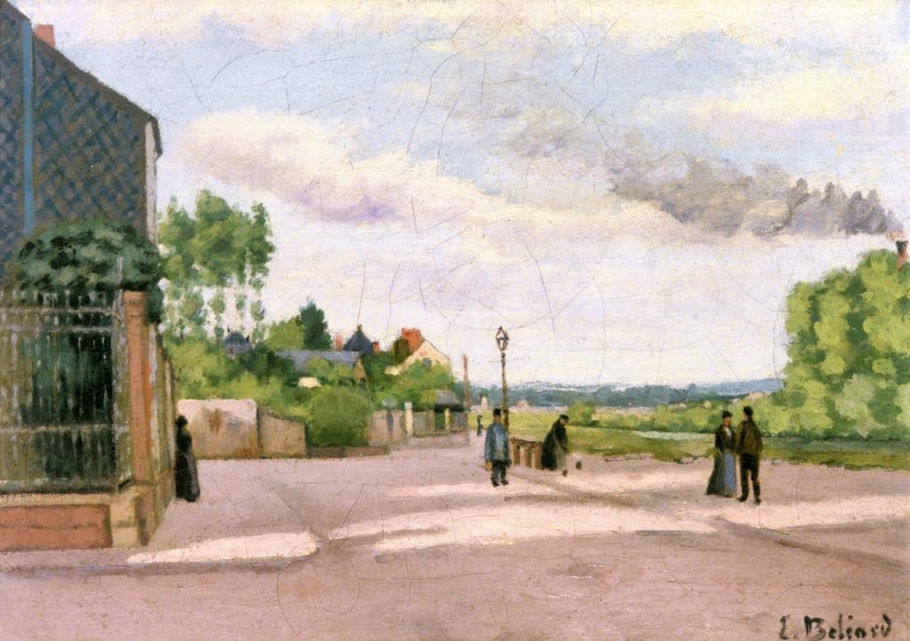 Edouard Béliard, 1860-76ca, Banks of the Oise, 33x45, A2007/12/13, (iR2;iR14;iR41). Maybe (??): 2IE-1876-1, Bord d'Oise.