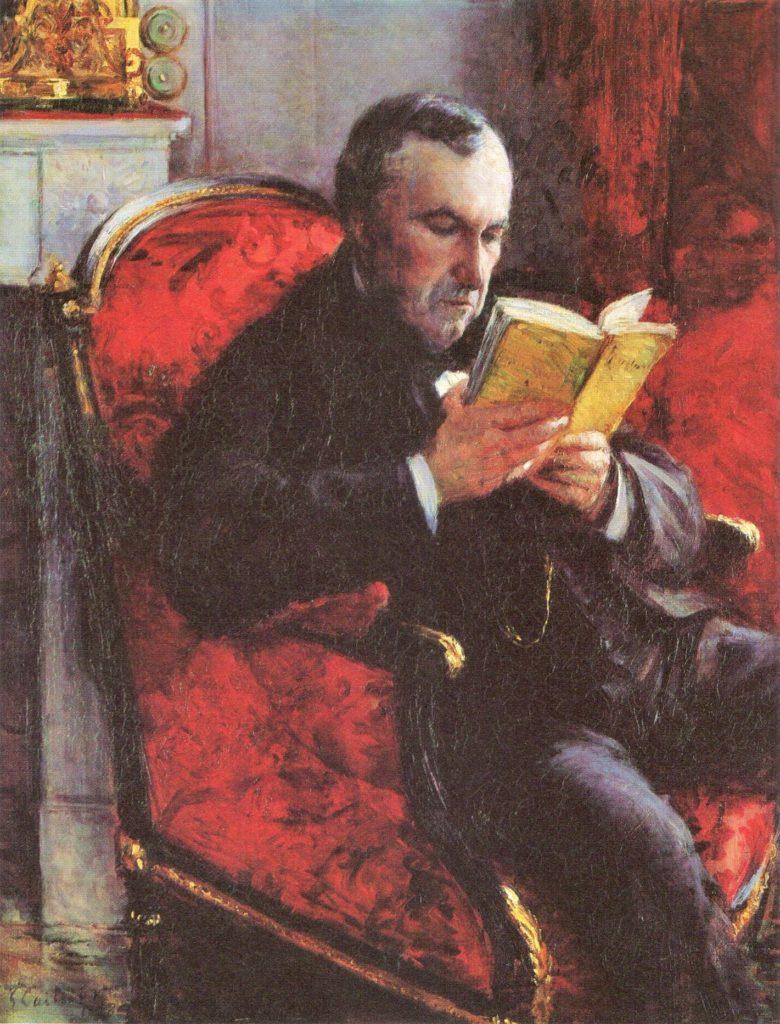 Gustave Caillebotte, 4IE-1879-18, Portrait de M. E. D... Now: 1878, CR85+109, Portrait d'Eugène Daufresne, 100x81, Josefowitz coll (R2,p274;R90II,p106+123;R101,no85;R102,no109+p282)