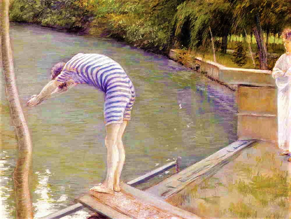 Gustave Caillebotte, 4IE-1879-26, baigneurs (pastel). Now: 1877, CR78+89, Bathers, Banks of the Yerres, pastel, 75x95, MBA Agen (iR2;R16,p88;R2,p267;R90II,p107+124;R101,no78;R102,no89+p283)