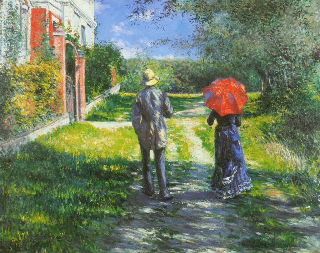 Gustave Caillebotte, 7IE-1882-3, Chemin montant. Now: 1881, CR-, Rising road, 100x125, A2003/11/04 (iR6;iR15;iR2;iR11;R90I;cpR102,no158).