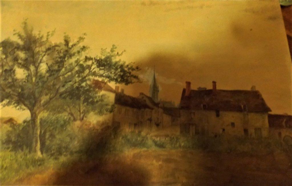 Léopold Levert: 18xx, peinture (options: PA1883 près de Fontenay; or -29 Sucy-en-Brie; or -39 Pontoise), 25x30, A2018/10/17 (aR4;aR2)