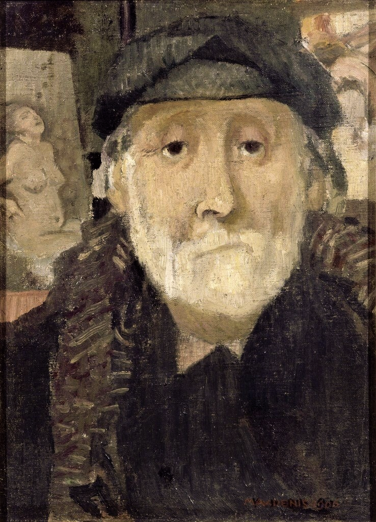 Denis, 1906, Portrait of the Painter Degas, 33x24, MBA Troyes