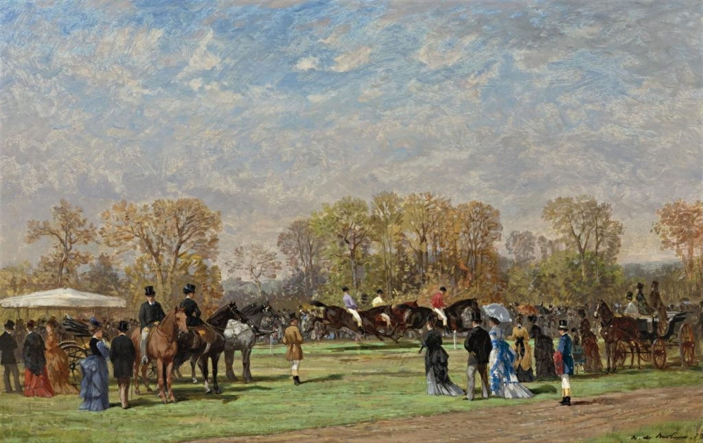 Auguste de Molins,1873, Chantilly, 34x55, A2007/11/29