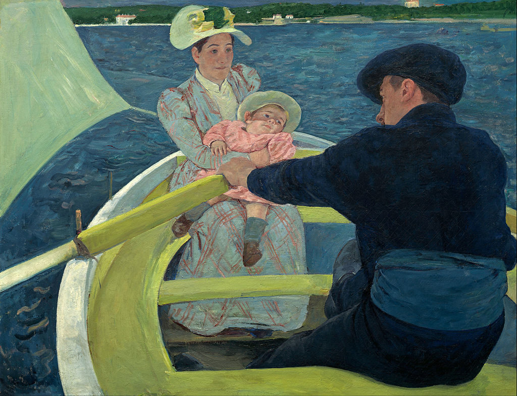 Mary Cassatt, 1893-4, CR230, The Boating Party, 90x117, NGA Washington