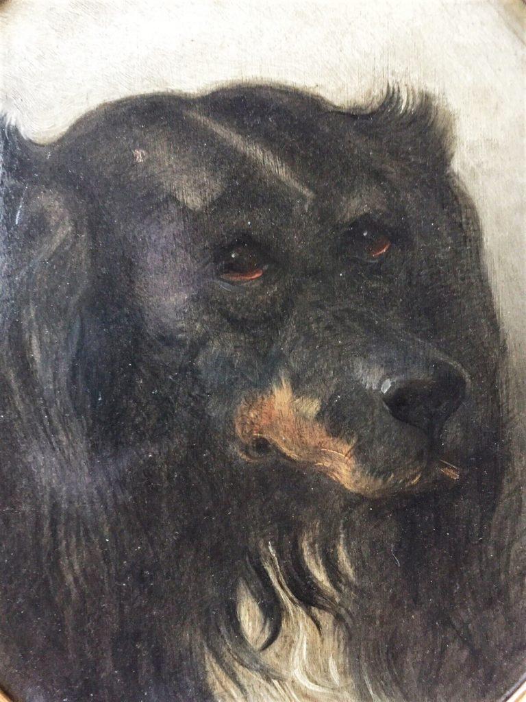 Auguste de Molins, 18xx, ancien chasse a courre chien (detail), xx, A2019