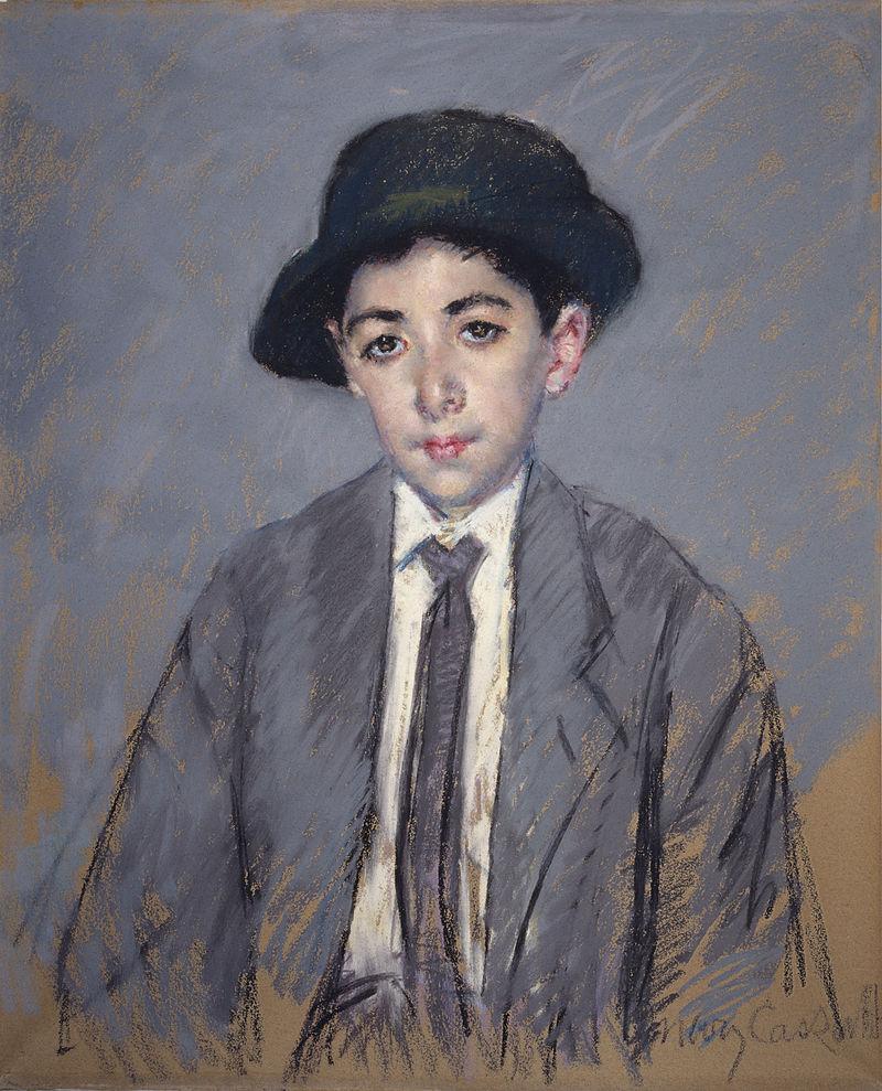 Mary Cassatt, 1910, Charles Dikran Kelekian, pastel, 65x54, Walters AM