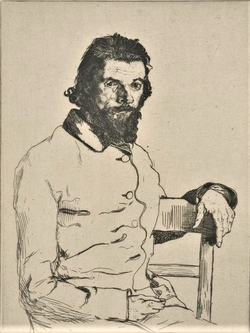 Félix Bracquemond, 1IE-1874-24-8, portrait de M Meryon. Option 1: 1853, B77, Charles Meryon, graveur, etch, 20x15, BNF Paris (iR61;R52,p35;R2,p119;R90II,p16;R85,no77)