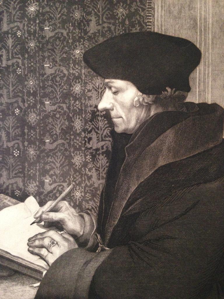 Félix Bracquemond, 1IE-1874-28-2, Portrait d'Erasme (d'apres Holbein; état éfinitif). Now: 1863, B39, Didier Erasme, print, 39x30, Louvre (iR10;iR42;iR1;R2,p119;R90II,p20). Also SdR1863-656 + S1864-2849.