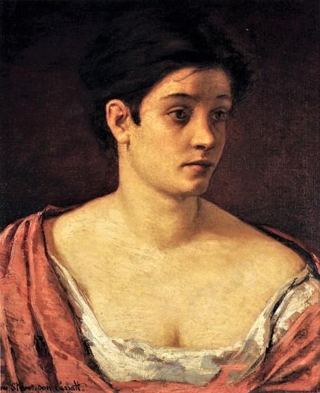 Mary Cassatt, S1870-2675, Mlle Mary Stevenson, Une contadina di Fobello, val Sesia (Piémont). Compare: 1872, CR16, Portrait of a Woman, 58x51, Dayton AI (aR1;iR1;iR6;iR10;R187,p33;R44,p8)