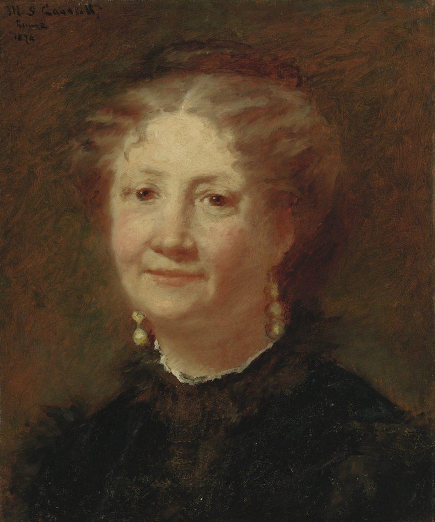 Mary Cassatt, S1876-353, Mlle Mary Cassatt, Portrait de Mlle C... Very uncertain: 1874, CR35, Portrait of Mme Cortier, 48x40, A2016/10/20 (iR10;iR14;iR2;iR92;iR1;R187,no35). Compare: S1875-367.