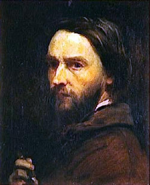 Adolphe-Félix Cals, 1IE-1874-141+hc. Now: 1851, Self-portrait, 47x39, Orsay (iR6;iR23;iR10;R87,p233)