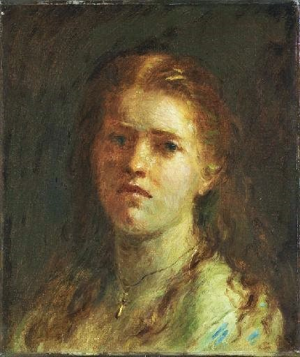 Adolphe-Félix Cals, 1IE-1874-36, Portrait de Madame Ed. G. Now: 1874, Portrait de jeune fille , 38x33, MBA Dijon (iRxx;iR23;iR10;R2,p120;R90II,p6;R194,no20)