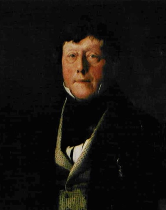 Adolphe-Félix Cals, S1838-233, Portrait de M. le comte de L. B... Perhaps: 1838, Portrait de Comte de Lancosme de Brève, 54x65, A2007/11/23 (iR13;iR10;iR1)