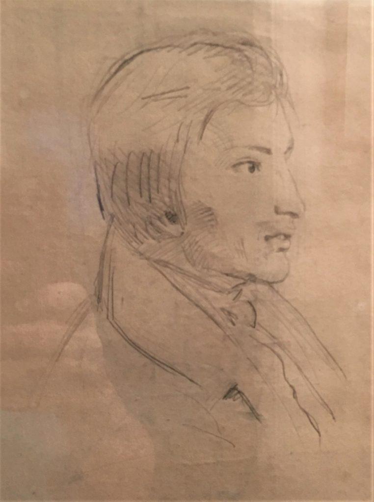 Adolphe-Félix Cals, S1846-299, étude d'homme. Compare: 18xx, unknown title (man of high standing; detail), dr, xx, xx (iR101;iR10;iR1)