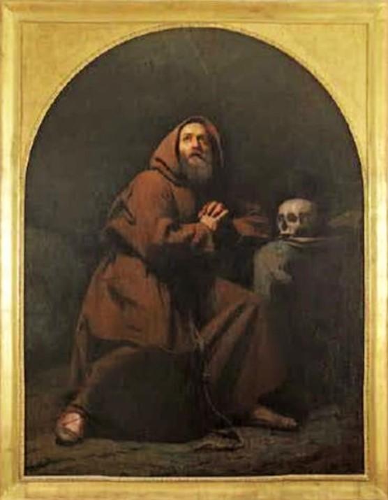 Adolphe-Félix Cals, S1847-264, Saint François-d'Assise. Maybe: 18xx, Saint-François d'Assise, 185x140, A2010/12/19 (iR13;iR1)