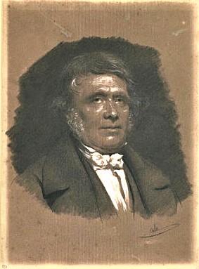 Adolphe-Félix Cals, S1866-2109, Portrait de M. xx, dessin. Maybe??: 18xx, Portrait d'homme, en buste, de face, la tête légèrement tournée à droite, dr, 33x25, Louvre (iR23;iR1).