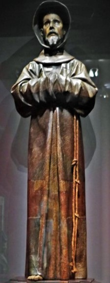 Zacharie Astruc, 1873-74, Saint François en extase, sc, xx, NCG Copenhagen (iR10;iR1) Compare: S1877-2230, Saint François d'Assise, d'après Alonso Cano; aquarelle +A1878,no.99 (aR2).