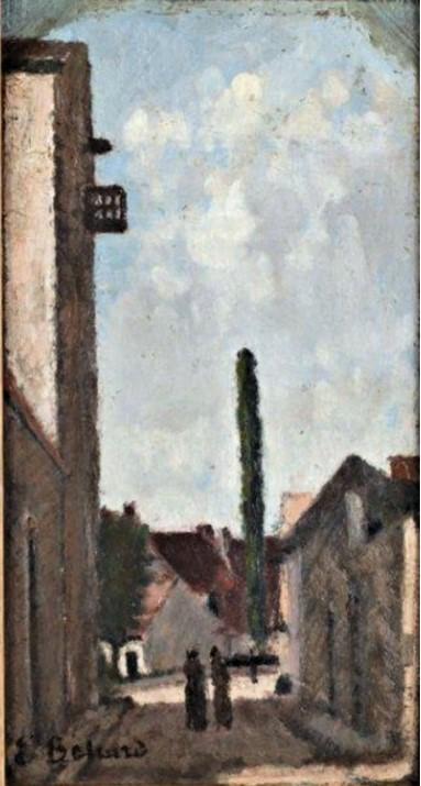 Edouard Béliard, 18xx, Rue de village (Village street), 31x17, A2012