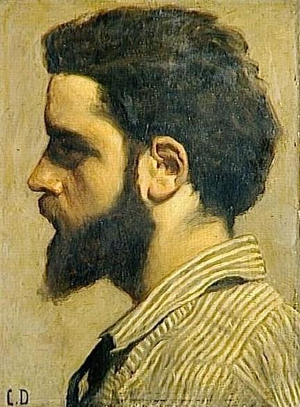 Carolus-Duran, 1860ca, Zacharie Astruc, 41x31, Orsay (iR10;iR23;iR135;R87,p229)