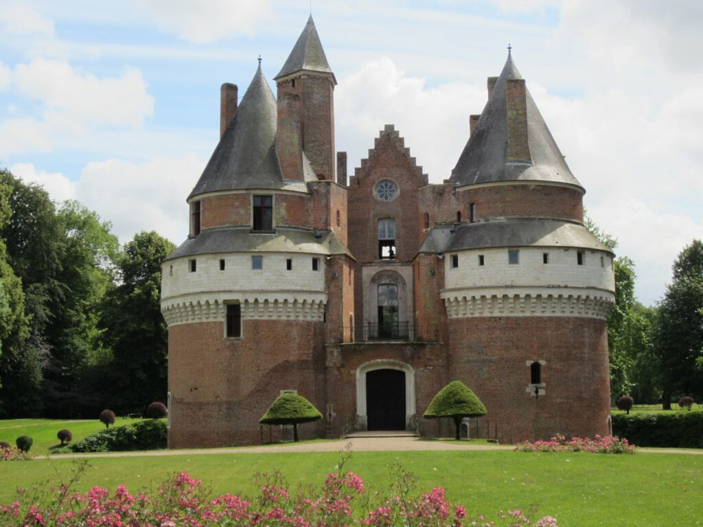 Château de Rambures, Picardy