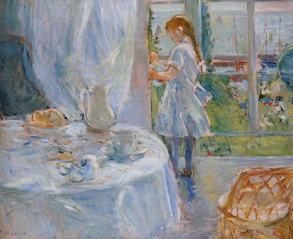 Berthe Morisot, 1886, CR197, Cottage Interior (Interior at Jersey), 50x60, MI Brussels