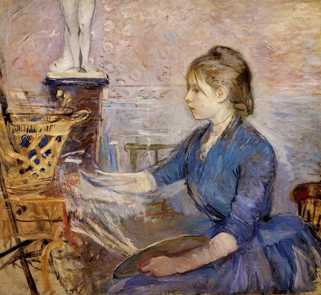 Berthe Morisot, 1886, CR208, Paule Gobillard Painting, 85x94, Marmottan